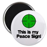 """My Peace Sign 2.25"""" Magnet (100 pack)"""