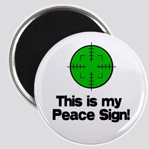 My Peace Sign Magnet