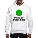 My Peace Sign Hooded Sweatshirt