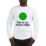 My Peace Sign Long Sleeve T-Shirt