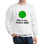 My Peace Sign Sweatshirt
