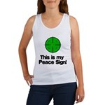 My Peace Sign Women's Tank Top