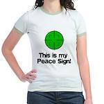 My Peace Sign Jr. Ringer T-Shirt