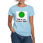 My Peace Sign Women's Light T-Shirt