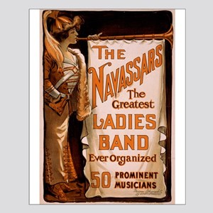 Navassars Ladies Band Small Poster