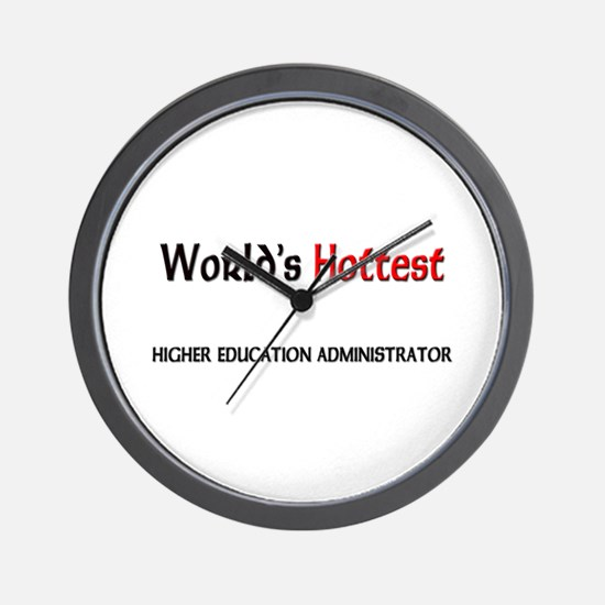 World's Hottest Higher Education Administrator Wal