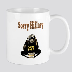 Lock Her Up Game Over Hillary 8 Mugs