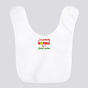 I'm perfectly normal for a Soci Polyester Baby Bib