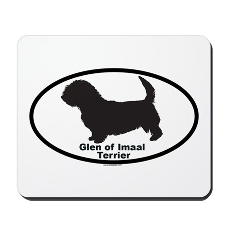 GLEN OF IMAAL TERRIER Mousepad