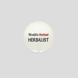 World's Hottest Herbalist Mini Button