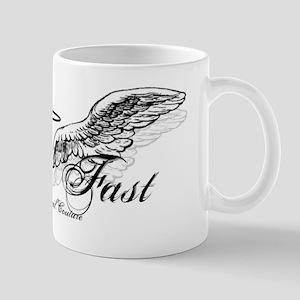 Fallin' Fast Angel Wings Mug