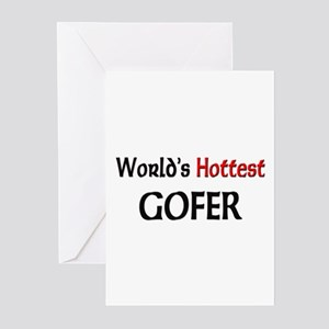 World's Hottest Gofer Greeting Cards (Pk of 10)