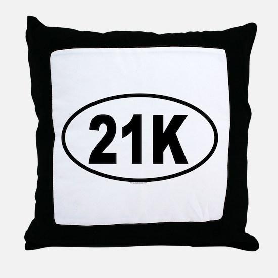 21K Throw Pillow