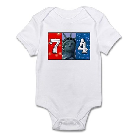 7-4, Infant Bodysuit