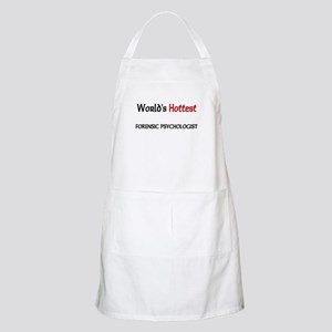 World's Hottest Forensic Psychologist BBQ Apron