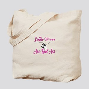 Seabee wives are Tote Bag
