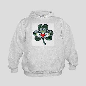 Irish Claddagh Kids Hoodie