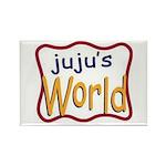 Juju's World Rectangle Magnet (100 pack)