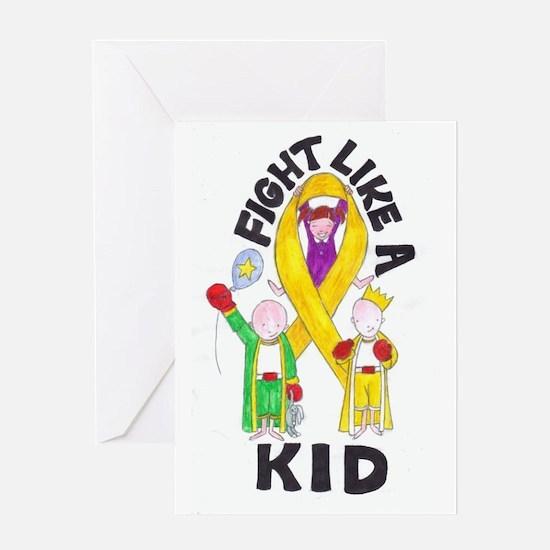 Fight Like a Kid Greeting Card