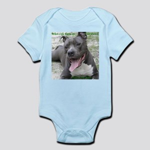 Smile With APBT Style Infant Creeper
