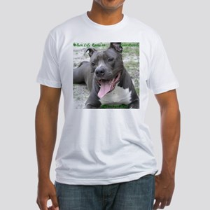 Smile With APBT Style Fitted T-Shirt