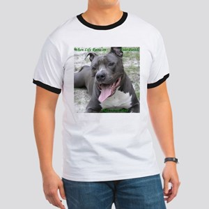 Smile With APBT Style Ringer T