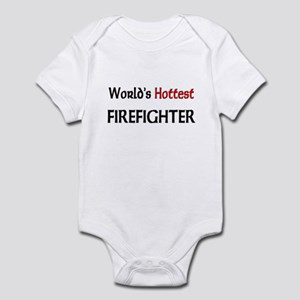World's Hottest Firefighter Infant Bodysuit