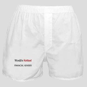 World's Hottest Financial Adviser Boxer Shorts