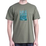 Live, Love, Surf - Dark T-Shirt