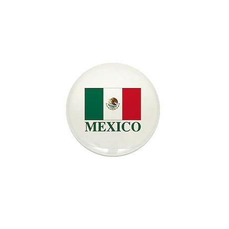 Mexico Flag Mini Button