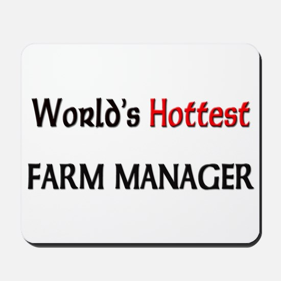 World's Hottest Farm Manager Mousepad