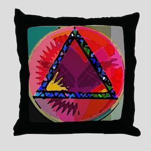 Spirit Mind Heart Throw Pillow