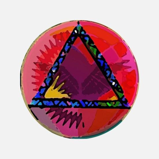 "Spirit Mind Heart 3.5"" Button (100 pack)"