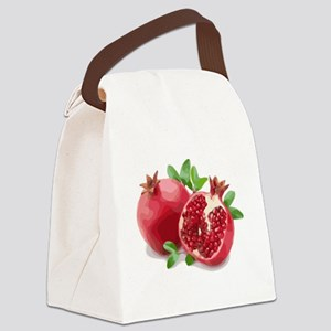 Pomegranate Canvas Lunch Bag