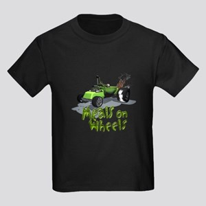 Wierd Wheels - Meals on Wheel Kids Dark T-Shirt