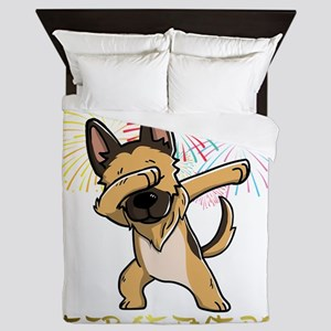 Dabbing Shepherd Chinese New Year 2018 Queen Duvet