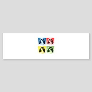 Havanese Pop Art Bumper Sticker