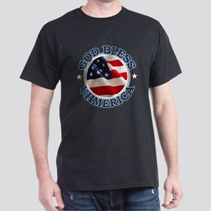 God Bless Uhmerica Dark T-Shirt