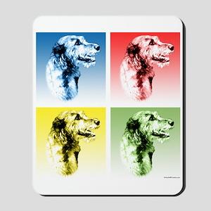 Wolfhound Pop Art Mousepad