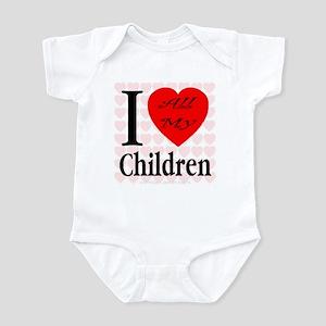 I Love All My Children Infant Creeper