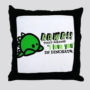 "RAWR!! That means ""i love you"" in dinosaur Throw P"