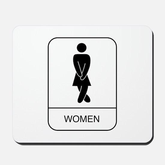 """""""Women"""" Mousepad"""