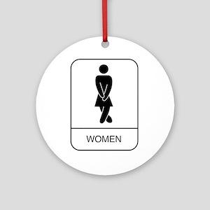 """Women"" Ornament (Round)"