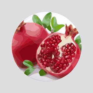Pomegranate Button
