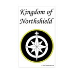 Northshield Populace Rectangle Sticker