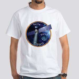 Dawn Mission Patch White T-Shirt
