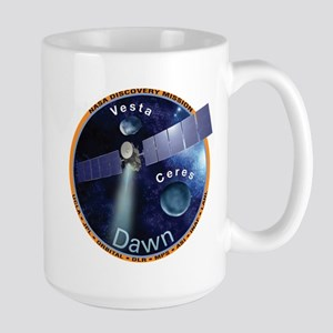Dawn Mission Patch Large Mug