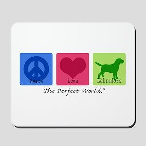 Peace Love Labs Mousepad