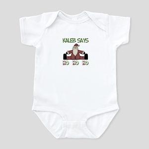 Kaleb Says Ho Ho Ho Infant Bodysuit