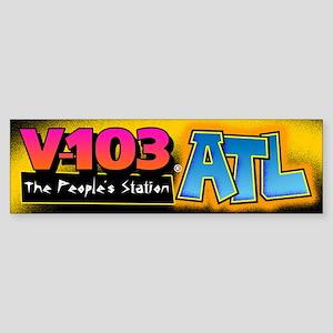 V-103 ATL Bumper Sticker